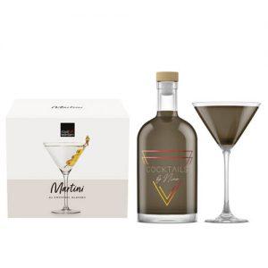 Espresso Martini (750ml) + 4 Martini glazen