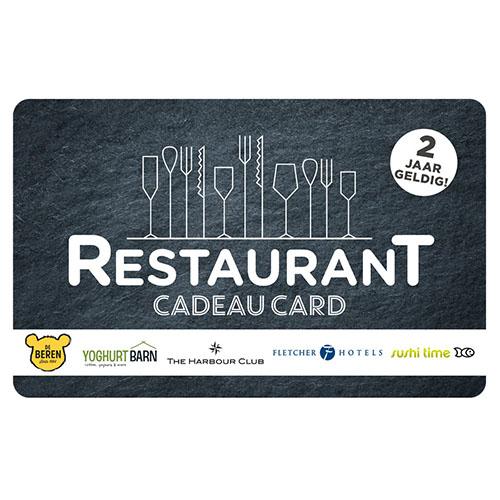 Restaurant Cadeau Card