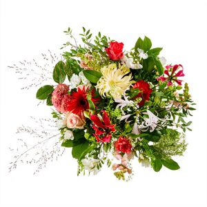 Powervrouw bloemen